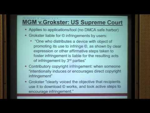 Vortrag: D'Lesli M. Davis über das Urheberrecht in den USA
