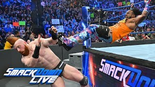 Hardy Boyz, Ricochet & Black vs. The Bar, Nakamura & Rusev: SmackDown LIVE, Mar. 12, 2019