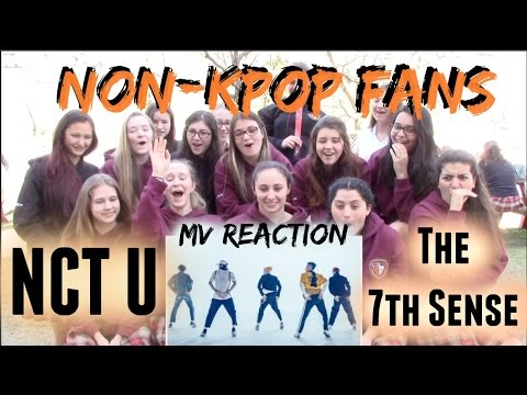Non-Kpop Fans NCT U The 7th sense Reaction [Classmates Edition]