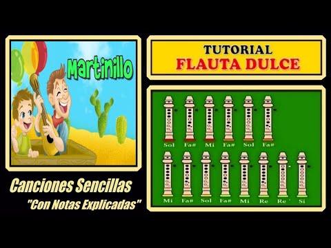 Martinillo en Flauta