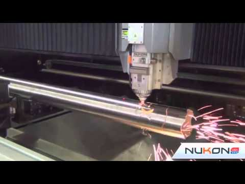 Checkout Cutting of REX Pipe with Nukon's Laser Cutting Machines