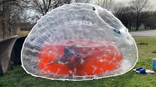 I Filled A Giant Hamster Ball With Kool-Aid
