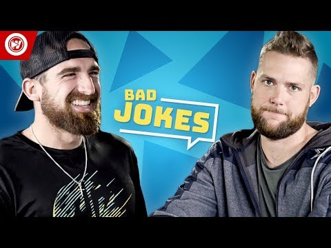 Dude Perfect Bad Joke Telling CHALLENGE