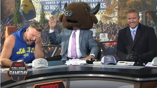Pat McAfee joins Lee Corso for headgear pick of North Dakota State vs. SD State | College GameDay