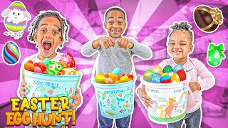 Huge Easter Egg Hunt Surprise Toys For Kids Outdoor Fun With The Prince Family