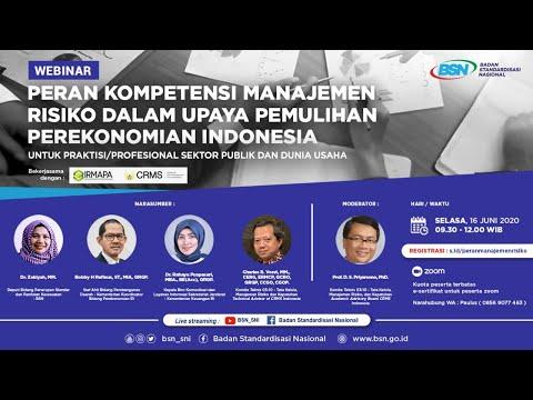 https://youtu.be/YLFpGcIwWaUPeran Kompetensi Manajemen Risiko Dalam Upaya Pemulihan Perekonomian Indonesia