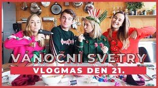 A Cup of Style - VLOGMAS Den 21.   Vánoční svetry s Shopaholic Nicol a Kovym! - Zdroj: