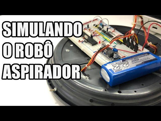 SIMULANDO O ROBÔ ASPIRADOR! | Usina Robots US-3 #027