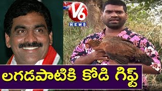 Bithiri Gift to Lagadapati for his Bithiri Survey..
