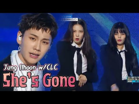 [HOT] JUNG ILHOON(With.CLC) - She's gone, 정일훈(With.CLC) - 쉬즈 곤 Show Music core 20180310
