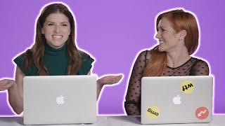"""Anna Kendrick, Anna Camp, and Brittany Snow Find Out Which """"Pitch Perfect"""" Character They Really Are"""