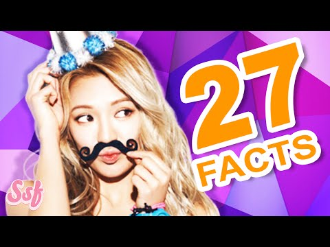 27 All About Hyoyeon Facts Video - Girls' Generation (SNSD) Video l @Soshified