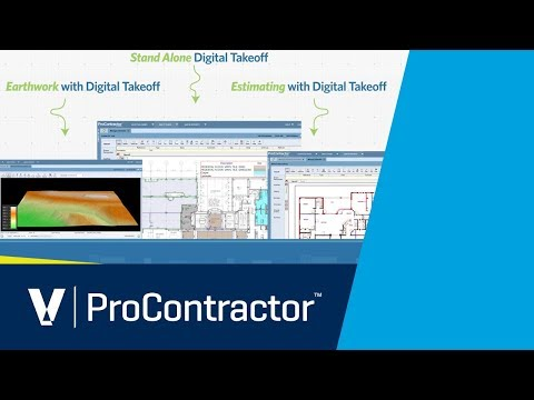 Viewpoint ProContractor Estimating