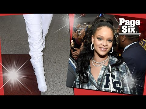 Rihanna wore a $27,000 outfit to the airport | Page Six