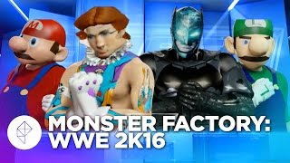Monster Factory: Recreating Ourselves in WWE 2K16