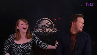 Arnold Tests How Well Chris Pratt and Bryce Dallas Howard Know Each Other