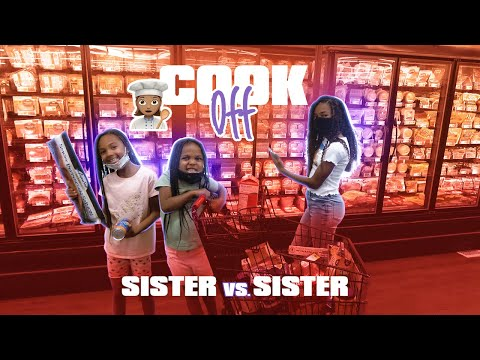 COOK OFF *SISTER VS SISTER* | THE DAVID'S DEN
