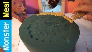 FLORAL FOAM  CAKE for DINNER!!   Monster Meal ASMR Eating Sounds   Kluna Tik Style Dinner No Talk