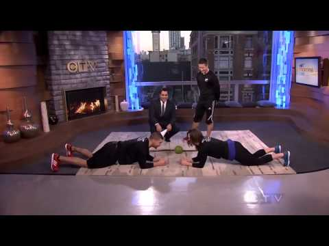 Personal Trainer Gastown Vancouver- Gastown Fitness - CTV AM Live- EP Fitness Trainer