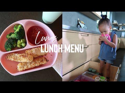 Luna's Lunch Menu - How To Make Chrissy's Homemade Fish Sticks!