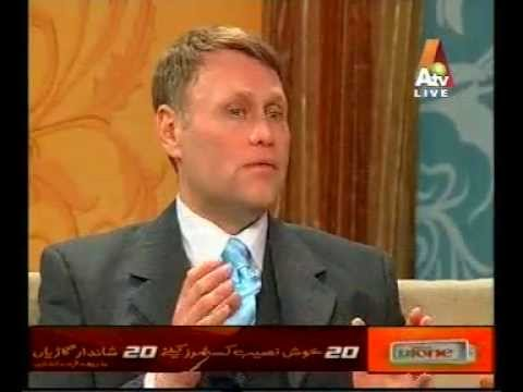 Christopher Helt guest on Morning With Farah Show. Islamabad, Pakistan  http://en.wikipedia.org/wiki/A_Morning_with_Farah