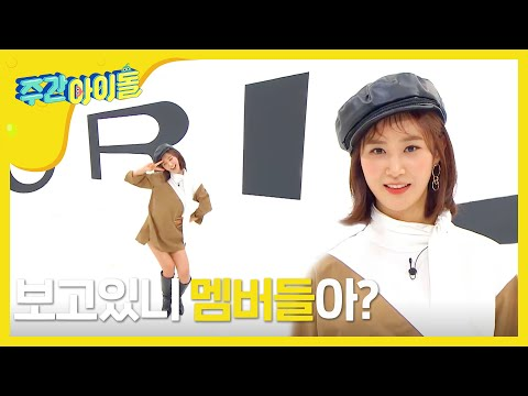 [Weekly Idol EP.375] YURI, Random play dance challenge alone