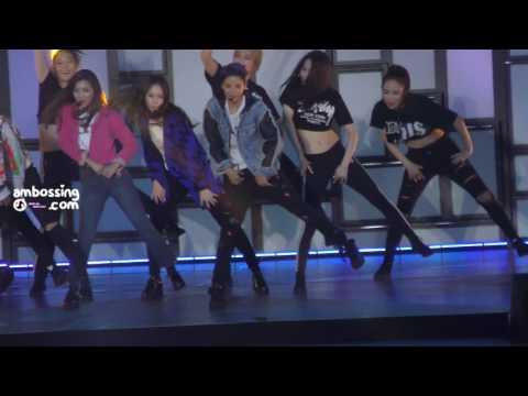 161102-03 Dimension 4 Encore 'COWBOY' 엠버 Amber focus fancam