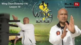 Wing Chun kung fu - wing chun Dummy Form part 10 - 10