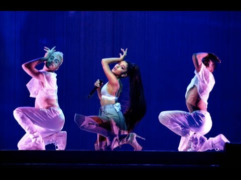 Side To Side/Bang Bang/Greedy/Focus - Ariana Grande Live in Denmark at The Dangerous Woman Tour (HD)