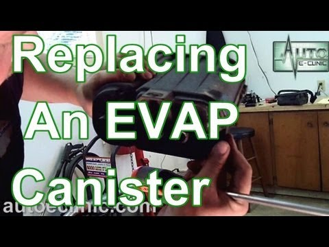 How To Replace An Evap Emissions Vapor Canister P0456
