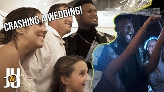 JuJu Smith-Schuster Crashes A Wedding! | Steelers Fashion Show