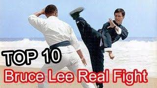 Top 10 Bruce Lee Real Fight Nobody Knows