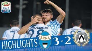 Spal - Udinese - 3-2 - Highlights - Giornata 2 - Serie A TIM 2017/18
