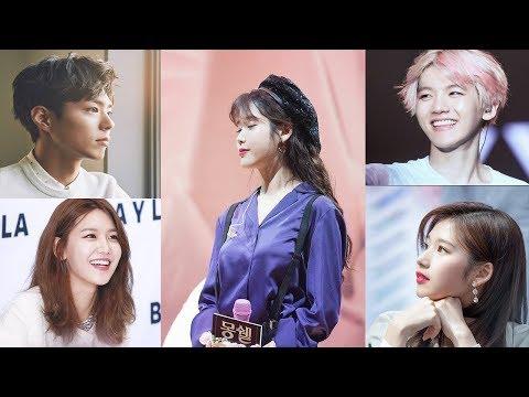 Kpop idol cover IU so cute (SNSD, TWICE, EXO, PARK BO GUM, APINK, WINNER...) 아이유
