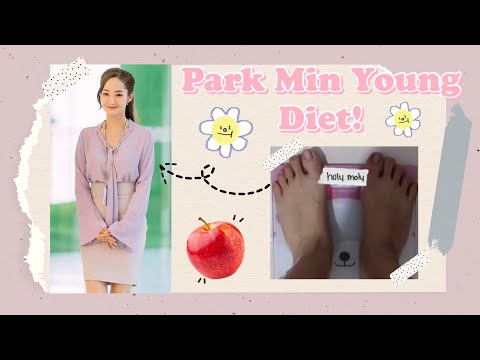 I TRIED PARK MIN YOUNG DIET | KOREAN ACTRESS DIET (Indo Sub)