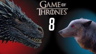 The Direwolves' Final Role (Game of Thrones S8)