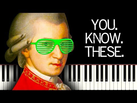 10 SUPER FAMOUS Classical Piano Pieces