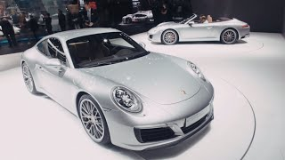 Porsche at the IAA 2015 - Porsche 911. New features.