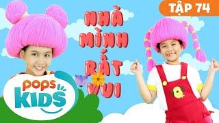 Mầm Chồi Lá Tập 74 - Nhà Mình Rất Vui | Nhạc Thiếu Nhi Cho Bé | Vietnamese Songs For Kids