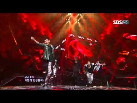 EXO [MAMA] @SBS Inkigayo 인기가요 20120520