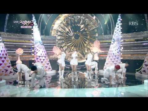 [HIT] 뮤직뱅크-소녀시대-태티서(Girls' Generation-TTS) - Holler.20140926