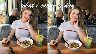 what i eat in a day | summer edition