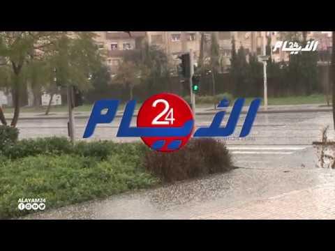 رياح و أمطار غزيرة تجتاح مدينة سلا