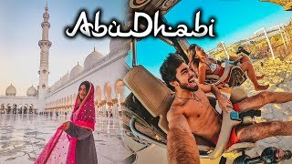 My time in ABUDHABI!   Travel vlogs   #LarsaTravels