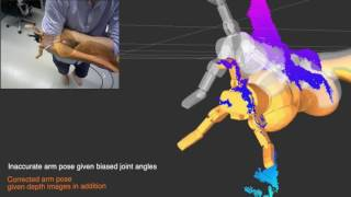 Probabilistic Articulated Real-Time Tracking for Robot Manipulation