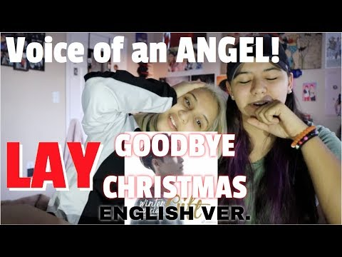 LAY 레이 'Goodbye Christmas' (English Version) REACTION!!!