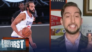 NBA's back with Clippers scrimmage win VS Magic, talks Joakim Noah — Nick | FIRST THINGS FIRST