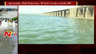 Water Level Rises in Sriram Sagar Project,receives heavy I..