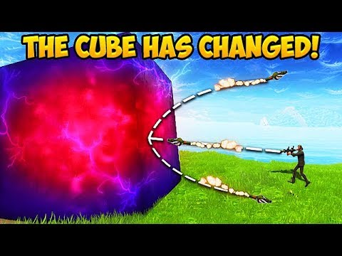 THE CUBE HAS JUST *CHANGED!* - Fortnite Funny Fails and WTF Moments! #314