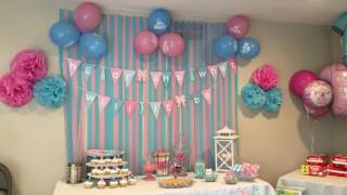 Cutest Gender Reveal Party EVER!!!!